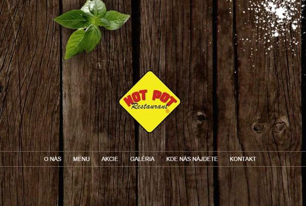 hotpot - webstranka